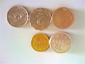 下の2つが葡幣